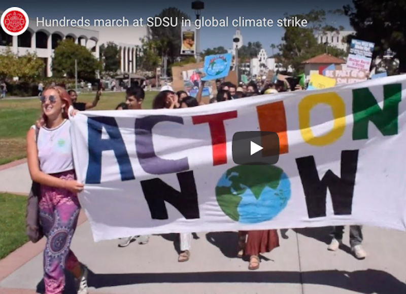 climate strike video