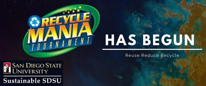 Recyclemania has Begun